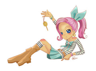 Grimadella the pirate -shojo- by RunaryKat