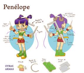 Penelope II by RunaryKat