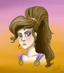 Megara Fanart by RunaryKat