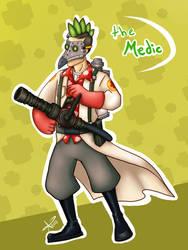 Medic tf2 by RunaryKat