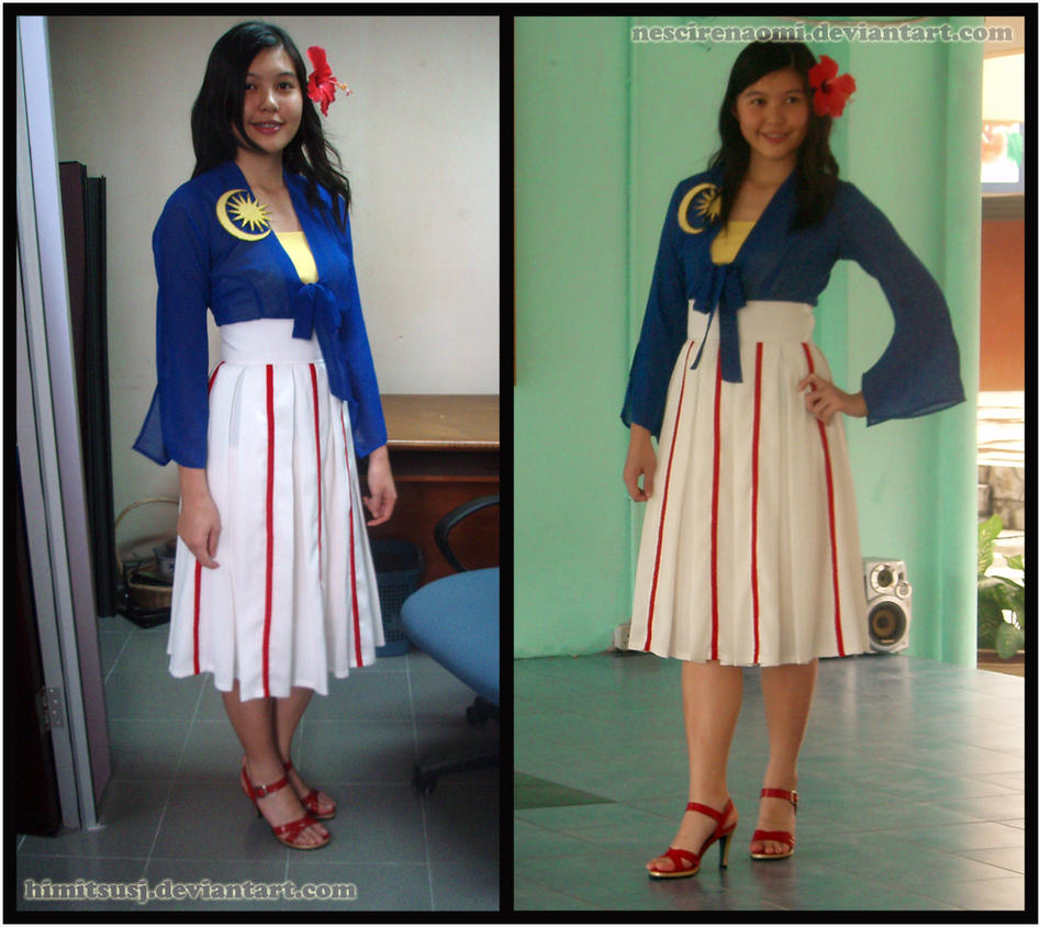 Merdeka Outfit By Himitsusj On DeviantArt