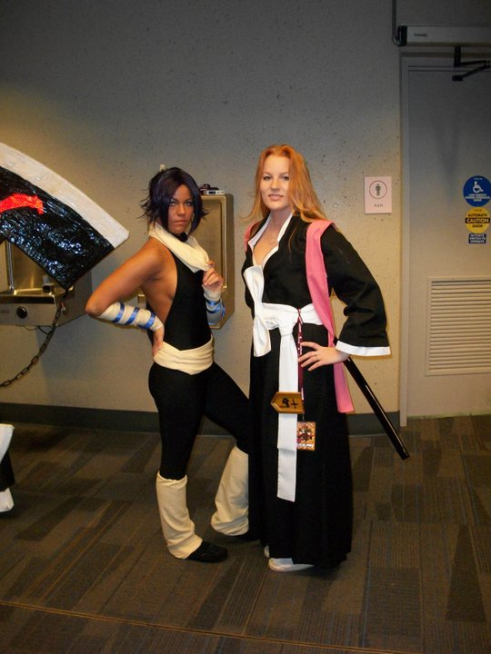 rangiku and yoruichi by kimberlyturner