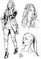 CHARACTER DESIGNER ESTHER by FelipePoveda