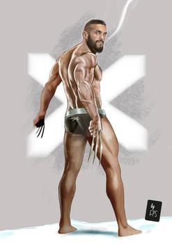 Wolverine/ Jason Statham/Scott Adkins