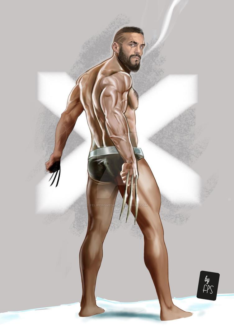 6250a855b01 Wolverine/ Jason Statham/Scott Adkins by FelipePoveda on DeviantArt