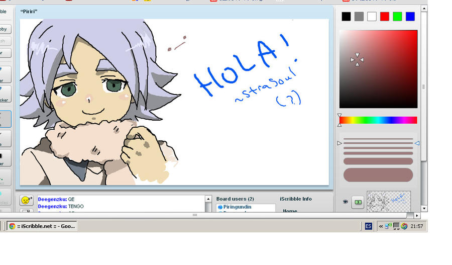Iscribble lol by Neikhael