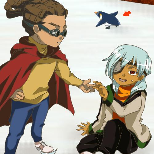 Kidou Yuuto and Sakuma Jirou by Neikhael
