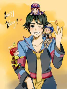 Idol's birthday!