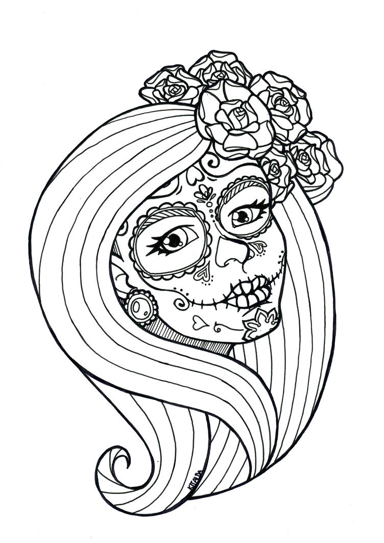 free tattoo coloring pages - neo traditional tattoo coloring coloring pages