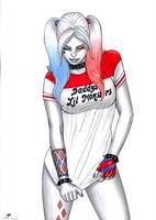 Harley Quinn 3 by sidneydesenhus