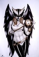 Hawkgirl by sidneydesenhus
