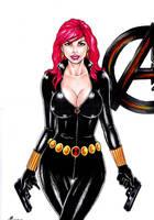 Black Widow by sidneydesenhus