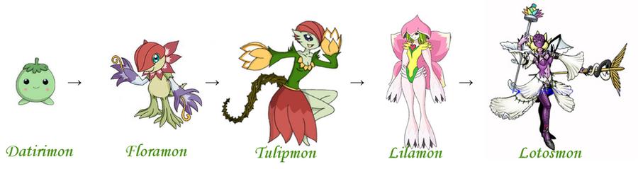 gatomon evolution chart - photo #15