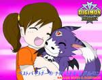 Best Partner: Nanami + Dorumon by SulfuricAcid