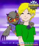 Best Partner: Stan + Falcomon by SulfuricAcid