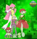 Digimon Exordium: Team Purity by SulfuricAcid