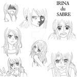 Irina du Sabre: Expressions