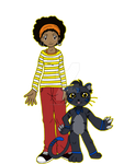 Digimon Academy: Jelani + Nurumon