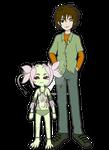 Digimon Academy: Joshua + Nymphmon