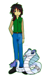 Digimon Academy: Briar Yu + Niveamon
