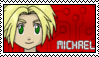 DigimonAcademy Stamp - Michael Rafter by SulfuricAcid