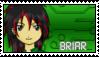 DigimonAcademy Stamp - Briar Yu by SulfuricAcid