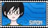 DigimonAcademy Stamp - Simon Hewlett by SulfuricAcid