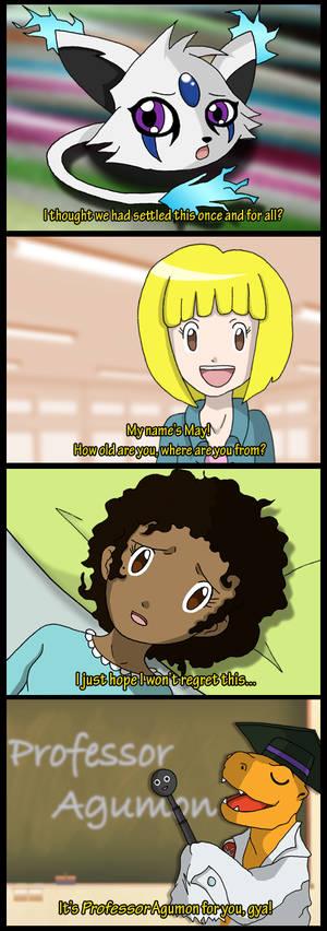 Digimon Academy: Chapter 2 screencaps