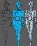 Metropolis Robot Maria by MrTake