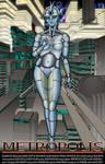Metropolis Movie Poster by MrTake