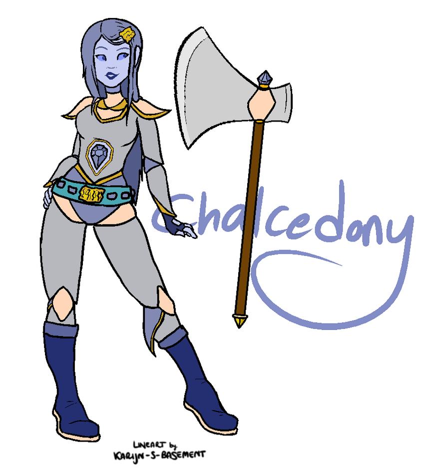 Chalcedony by TalkativeTiaD