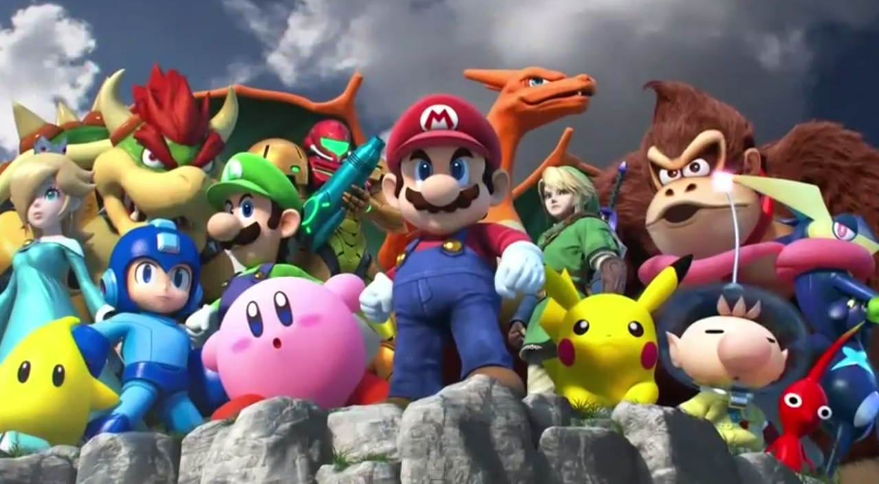 Super smash bros 4 characters cameo by pikachuandpichu106 on