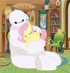Baymax and Fluttershy