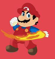 Super Smash Toons - Mario by pikachuandpichu106