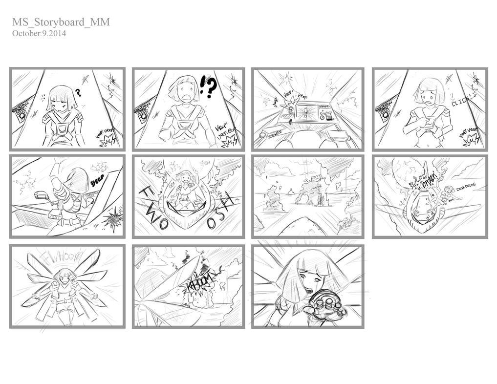 The Crash: Storyboard by Genesis199