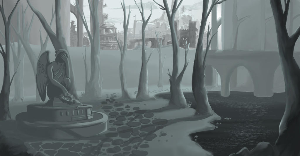 In the Shadow of the City WIP2 by Genesis199