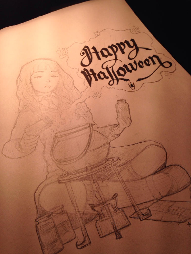 Happy Halloween from Hermione by Genesis199