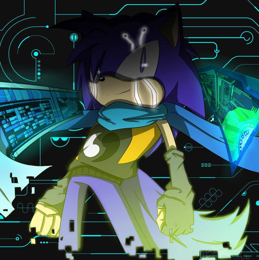 Xero the A.I. by KnightNicole