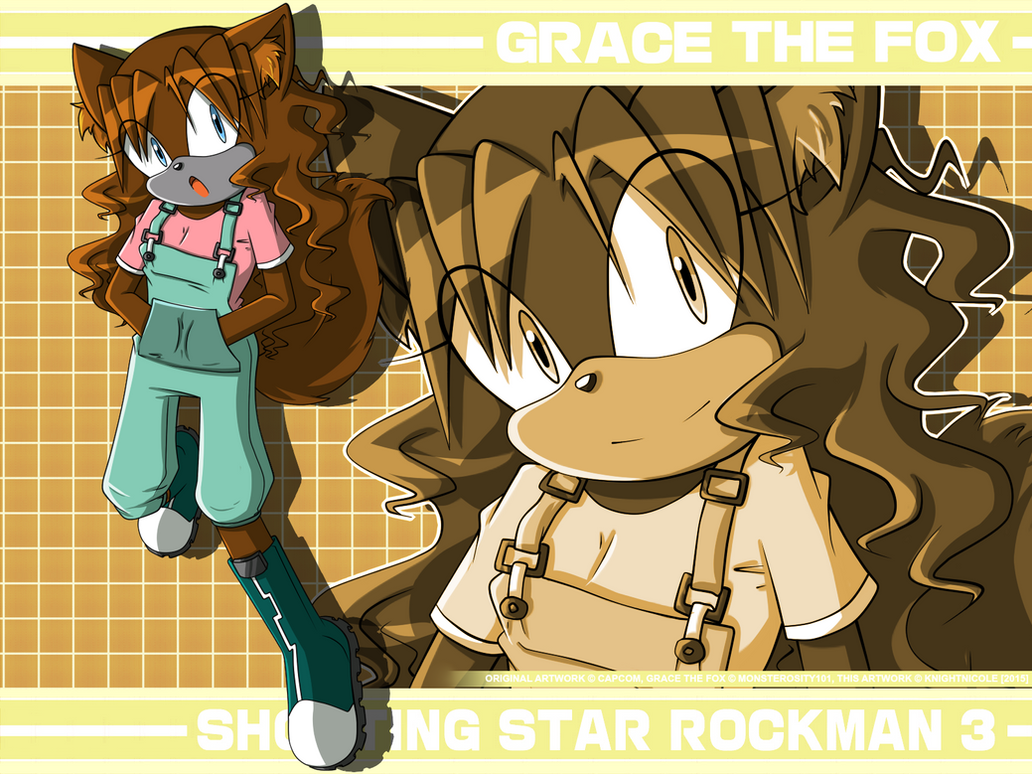 [GIFT][SSR3] Grace the Fox by KnightNicole