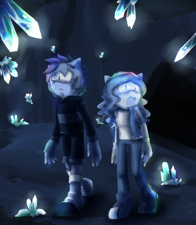 Crystal Cave by KnightNicole