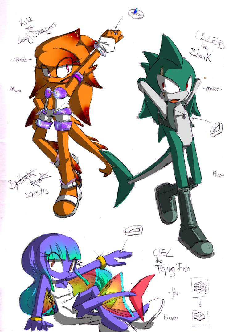 Team SurfaceDreamers! by KnightNicole