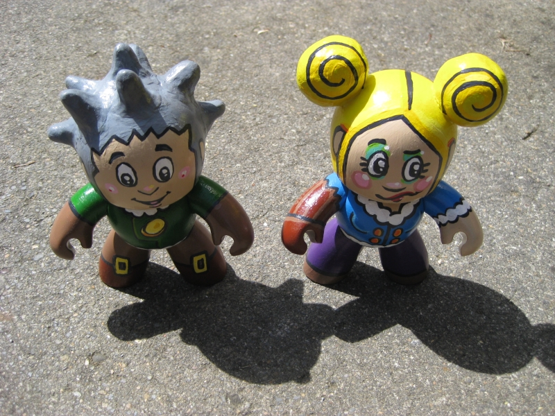 Mighty Muggs - Fresia and Ted by Poj5