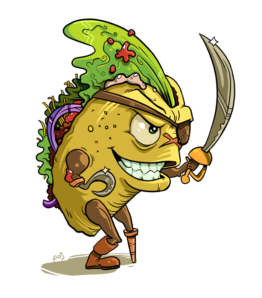 Buccaneer Taco By Poj5 On DeviantArt
