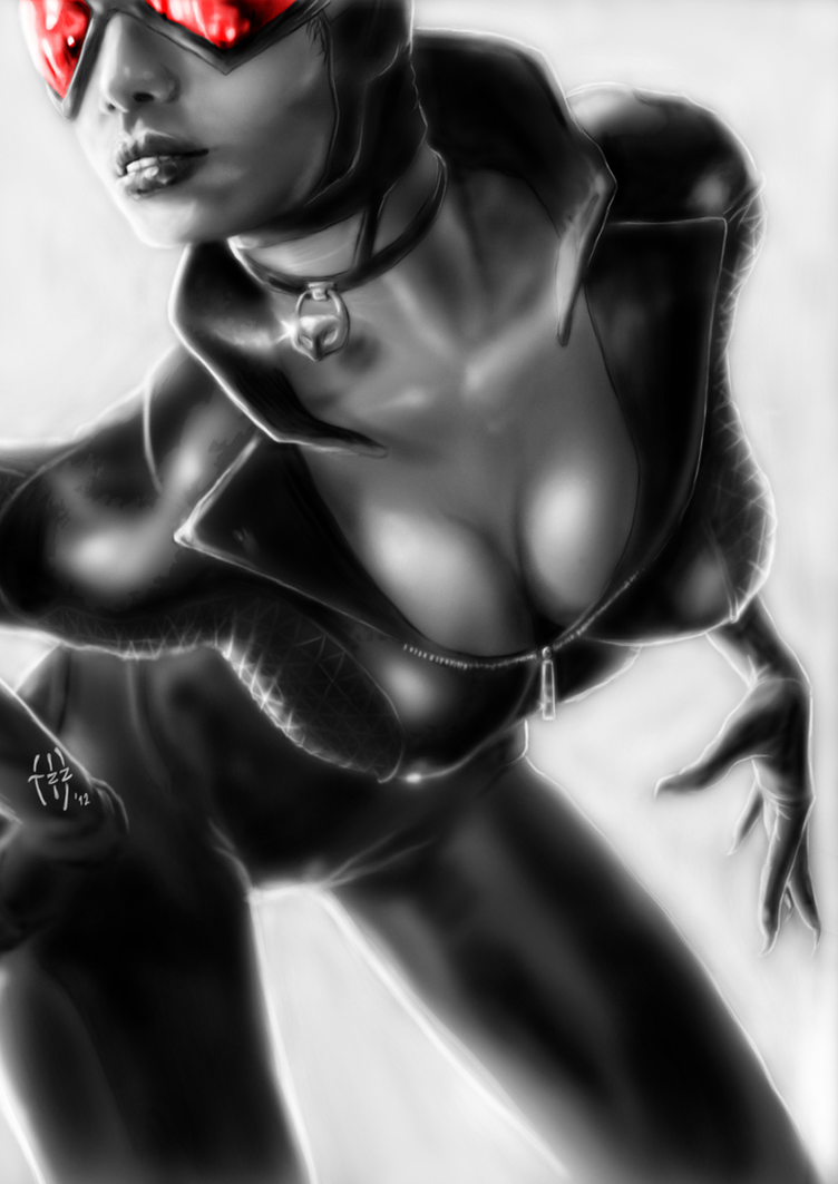 Catwoman by JenisVell