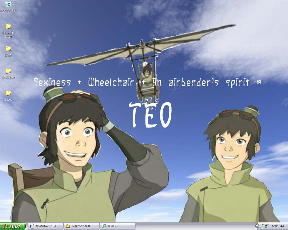 My Teo Wallapaper X3 by SurferKay