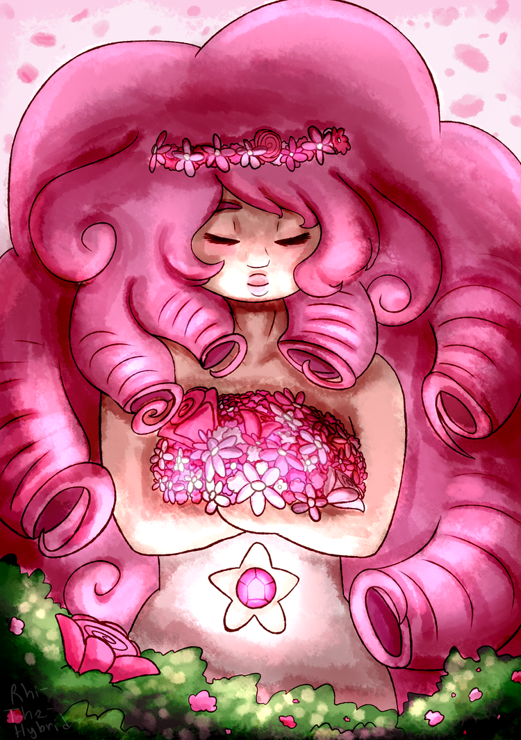 rose quartz? more like the most beautiful lady in the world also i hate flowers now they took so long to do anything with Steven Universe belongs to Rebecca Sugar