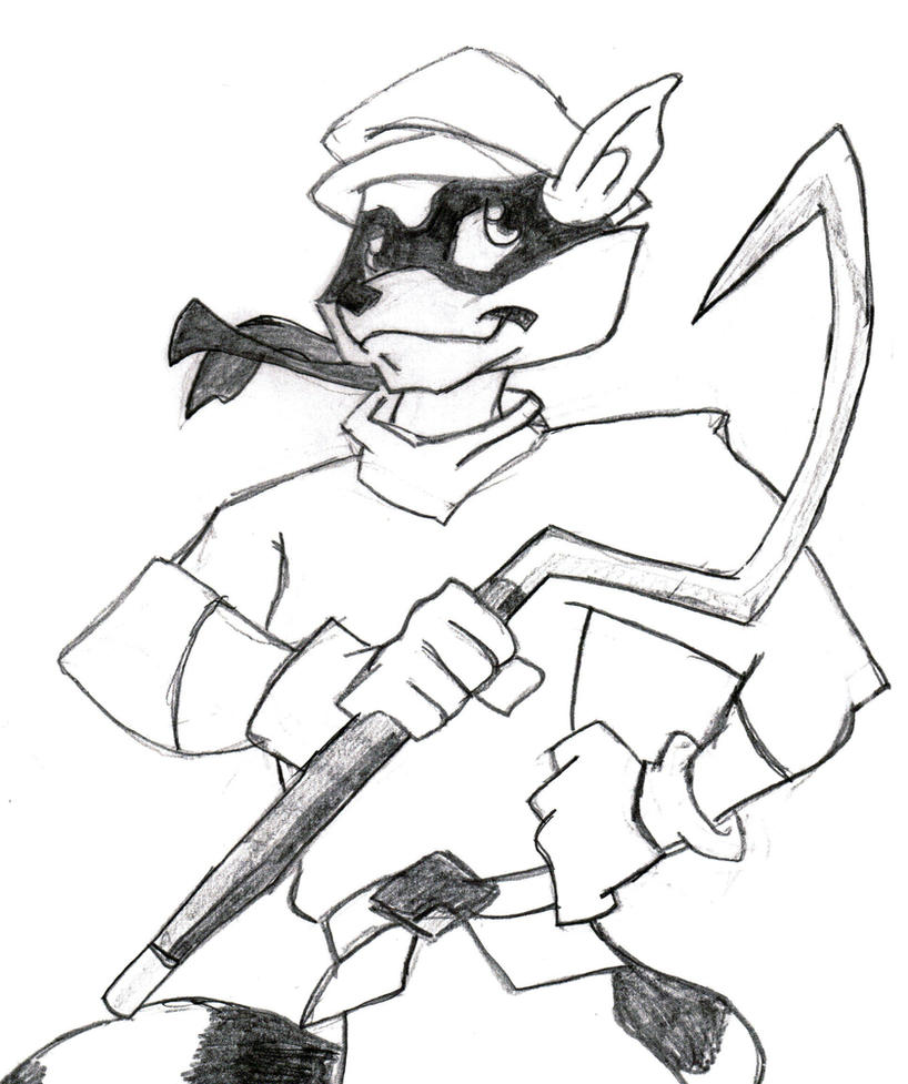 Coloring Pages Sly Cooper Coloring Pages browsing scraps on deviantart sly cooper by lonewerewolf