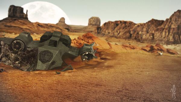 3D Matte Crash by Yondasable