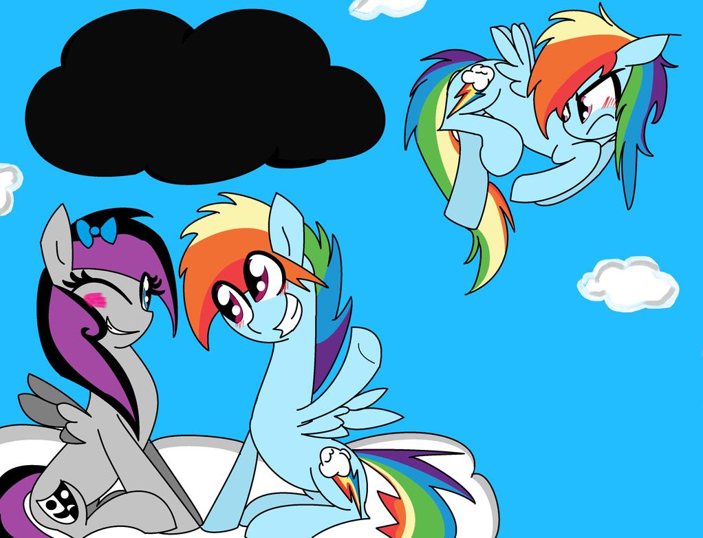 Applejack And Rainbow Blitz Kiss Applejack Rainbow Blitz | Apps ...