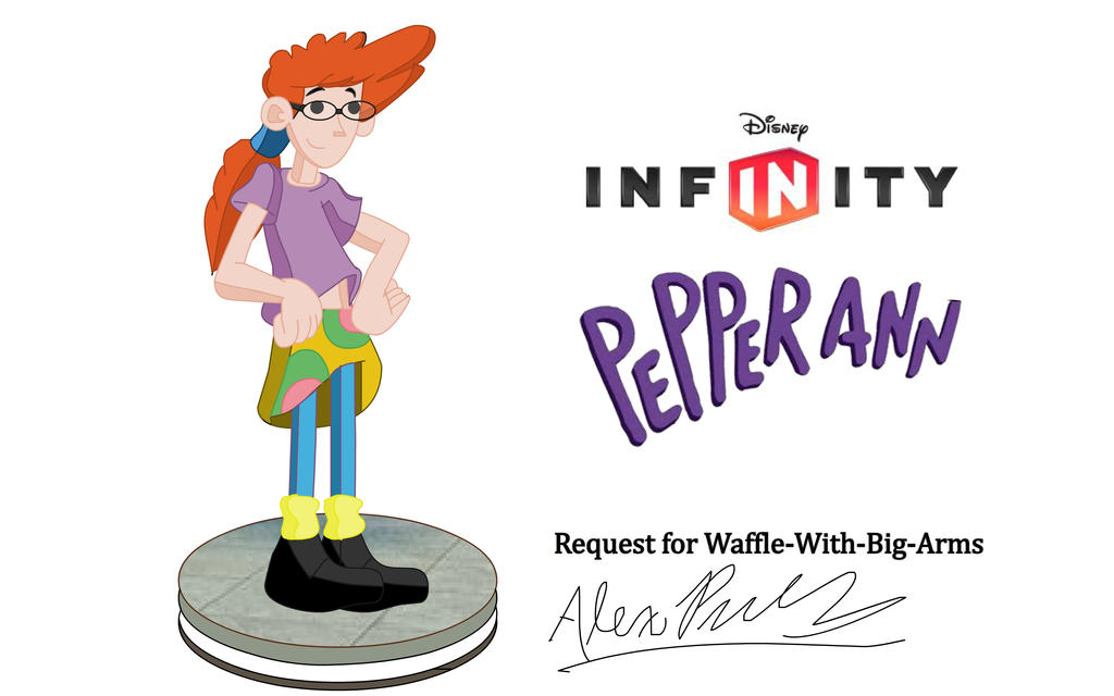 Disney Infinity Pepper Ann For Waffle With Big Arm By